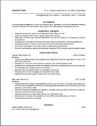 Waitress Resume Examples Stunning Waitress Resume Duties Elizabeth Smith Waitress Resume Example