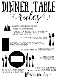informal dining table setting. proper place setting tutorials informal dining table