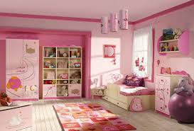 Pink Color Bedroom Little Girls Bedroom Idea With Nice Combination Of Colors Home