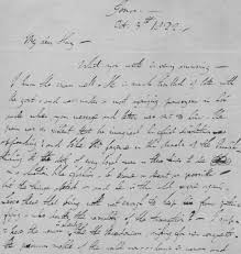 Letter By English Romantic Poet Lord Byron Held By Morristown