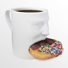 Put a smile on that mug with a hungry mouth cubby that bites off more than  you can chew. Perfect for serving milk and cookies, coffee and doughnuts,  ...