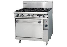 trueheat 6 burner gas stove u0026 static oven natural r906 burner gas range r15