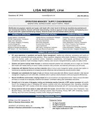 Warehouse Manager Resume Objective Summary Warehouse Supply Chain