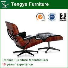Eames <b>Lounge Chair</b> & Ottoman Reproduction 100% <b>Genuine</b> ...