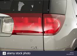 2006 Buick Rendezvous CXL in Gray - Tail light Stock Photo ...