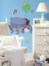 nursery wall decor colorful kids rooms eeyore giant decals