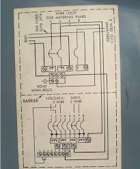 sub panel in detached garage should i bring it up to code flat rate service wire means never heard that before i am going to colorize this diagram as it is hard to follow when all the lines are black