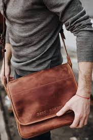 mens leather bag flap messenger bag satchel cross bag leather messenger men s bag by kruk garag