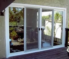 3 panel sliding glass patio doors. Patio 3 Panel Sliding Glass Doors Large Door