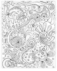 Free Coloring Page Coloring Face And Flowers Zen Anti Stress