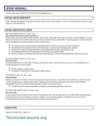 Retail Sales Associate Resume New Retail Sales Associate Job Description For Resume New For Retail
