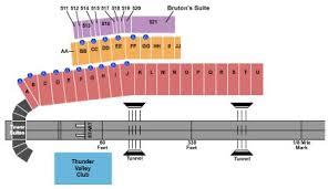 Thunder Valley Concert Seating Chart Bristol Dragway Tickets And Bristol Dragway Seating Chart