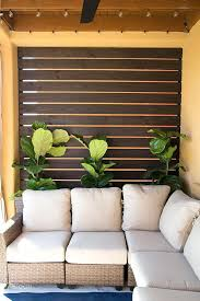 diy patio screen gorgeous slatted outdoor privacy screen