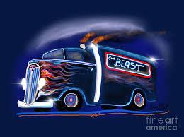 The Berast Digital Art by Doug Gist