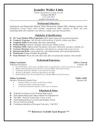 Medical Front Desk Resume 7 Receptionist Assistant Free Sample ...