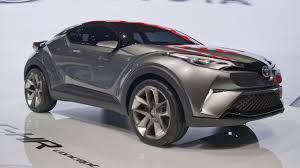new car release 2016 malaysiaToyota displays the new crossover CHD at Frankfurt