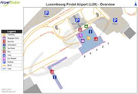 Luxembourg Findel International Airport Ellx Lux