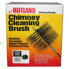 rutland 8 in chimney sweep round wire chimney cleaning brush 16408 the home depot