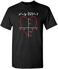 Check out our valentines day shirt selection for the very best in unique or custom, handmade pieces from our clothing shops. Amazon Com Love Heart Equation Math Graphic Mens Ladies Funny Valentines Day T Shirt Clothing
