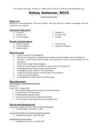 Kelsey Anderson - Echocardiographer Resume 2014. 8722 Timber View Drive,  Humble, TX 77346  832-233-0163 ...