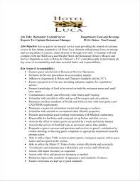 resume for restaurant example fine dining server resume sample james pinterest at