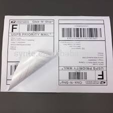 200 Shipping Labels White Blank Half Page Self Adhesive For Laser