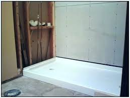 cost to install tile shower pan installation home depot wall panels install shower in basement cost