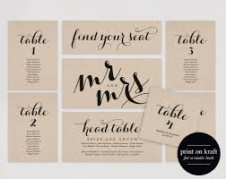 Wedding Seating Chart Seating Plan Template Wedding Seating Cards Table Cards Seating Cards Pdf Instant Download Bpb133_5