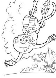 Small Picture Free Christmas Coloring Pages Dora Christmas Coloring Pages