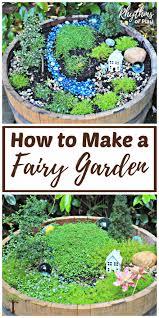 how to make a fairy garden. Interesting Fairy How To Make A Fairy Garden From Start Finish Intended To Make A Fairy Garden I
