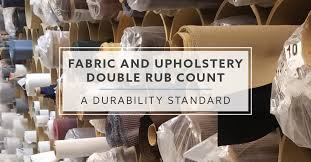 Fabric Days Of The Week Chart Fabric And Upholstery Double Rub Count A Durability Standard