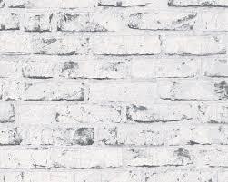 Vliesbehang Steenmotief Grijs 9078 37 Wallpaper Brick Wallpaper