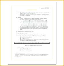 Literature Review Outline Template Unique The United States