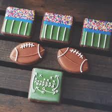 Football Cookie Cake Designs Football Cookies Football Cookies Football Sugar Cookies