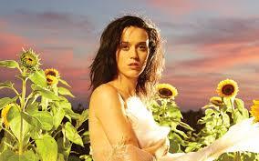 Photo Katy Perry Music Girls Fields Sunflowers Celebrities