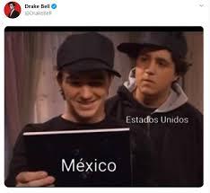 See more ideas about amerika kapitány, fiúk, srácok. Drake Bell Compartio Un Divertido Meme Para Celebrar Su Romance Con Mexico Infobae