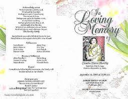Memorial Service Invitations Template New Funeral Invitations