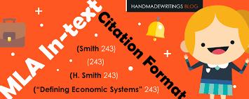 mla citation format guide blog mla in text citation format