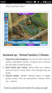 com handy virtual families 2 cheats app for android 0 00