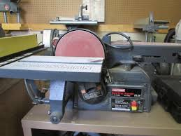 craftsman belt and disc sander. craftsman 4\ belt and disc sander b