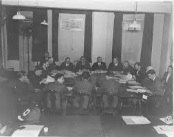 nuremberg timeline robert h jackson center the london conference in session preparing for the nuremberg war crimes trials credit charles alexander office of the united states chief of counsel