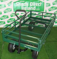 garden cart. Steel Utility Cart With Removable Folding Sides Garden