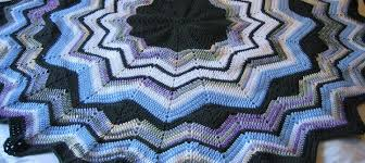 Ripple Afghan Pattern Free Fascinating JanelWasHere Round Ripple Crochet Afghan Pattern
