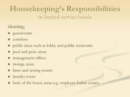 Housekeeping Department Functional Chart Planning And Organizing The Housekeeping Department Ppt