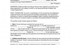 Lease Contract Sample Rent To Own Agreement Form Lease Contract Template Legal Equipment