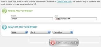Driving Cost Calculator