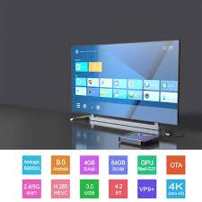Light Smart Tv Smart Tv Box A95x F3 Android 9 0 Rgb Light Tv Box Amlogic S905x3 8k Netflix Plex Media Server Set Top Box A95xf3 Pk Hk1max H96