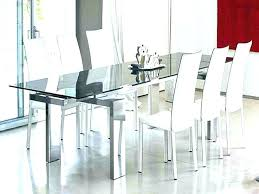 modern glass kitchen table. Plain Kitchen Modern Glass Dining Room Sets Tables  For With Modern Glass Kitchen Table