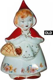 Mccoy Cookie Jar Values Mesmerizing Hull Red Riding Hood Cookie Jar