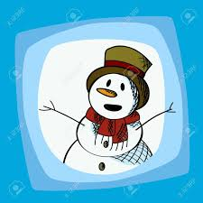 holiday snowman clip art. Plain Holiday Snowman Clip Art Illustration For Winter Holidays Stock Vector  16188091 With Holiday Clip Art